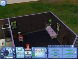 Sims3 - Односпальная кровать