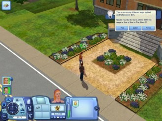 Sims3 - Прогулки по городу
