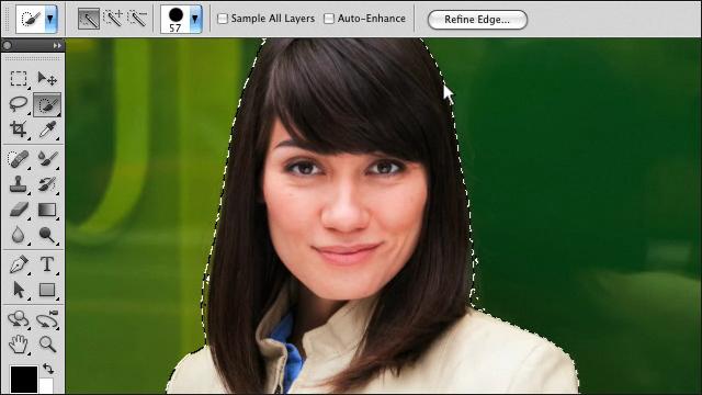 Adobe Photoshop CS5 - Выделение сложных объектов