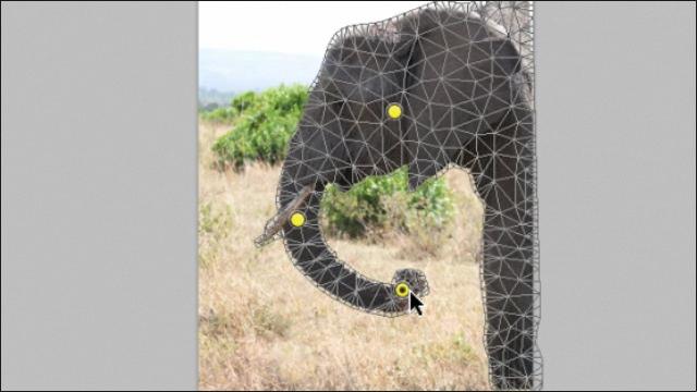 Adobe Photoshop CS5 - Мариониточная деформация