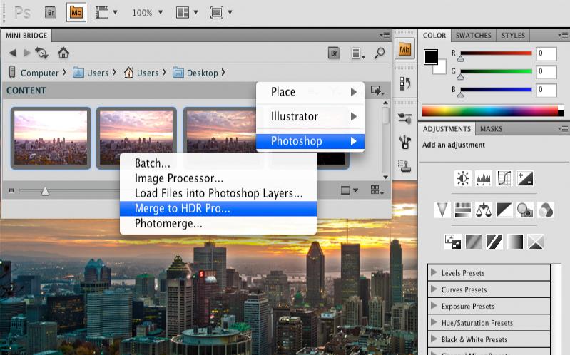 Adobe Photoshop CS5 - Управление медиа файлами