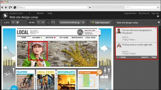 Adobe Photoshop CS5 - Упрощенное рецензирование