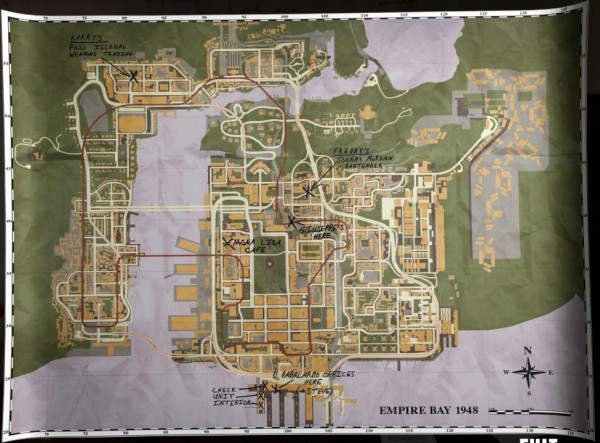 Карта Эмпайр-Бей.