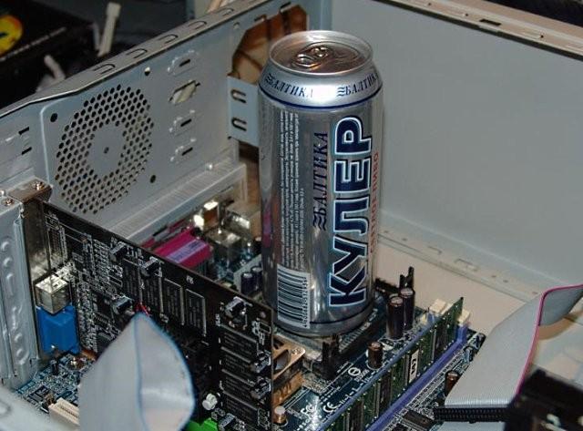 Охлаждение компьютера - так ли