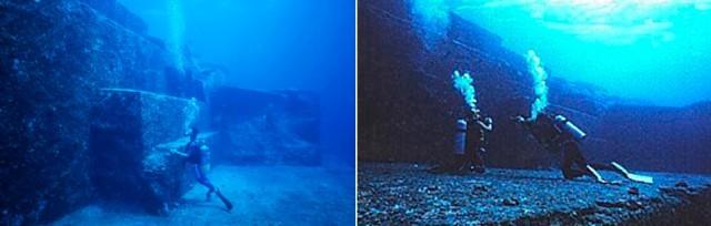 Драконов треугольник, Атлантида и тайны подводных пирамид