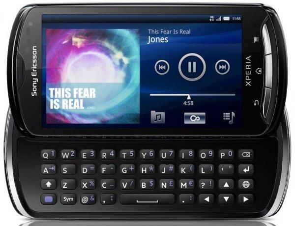 Смартфон Xperia pro от Sony Ericsson 1