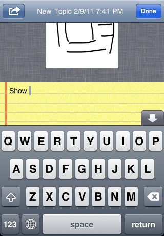 Приложение mSketch