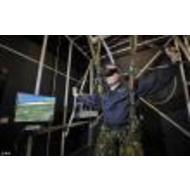 Новый парашютный тренажер для британских ВВС