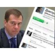 Twitter-блог Дмитрия Медведева набрал миллион подписчиков