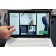 Intel представил ультрабук с сенсорным экраном