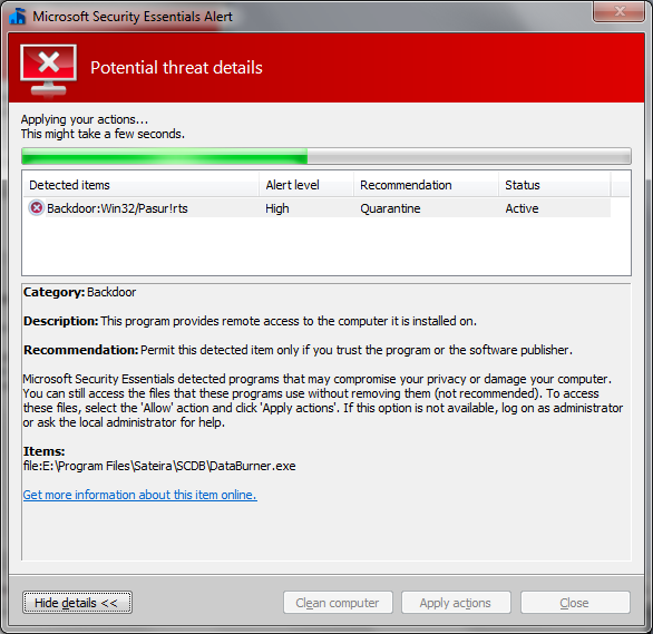 Download Microsoft Security Essentials - free - latest