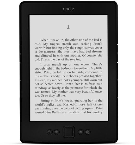 Новейшая электронная книга Kindle Paperwhite
