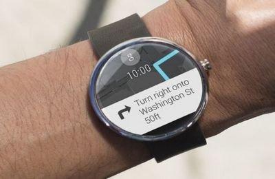 Смарт-часы Motto 360 с функцией навигатора