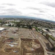 Компания Apple с увлечением строит себе новую штаб-квартиру