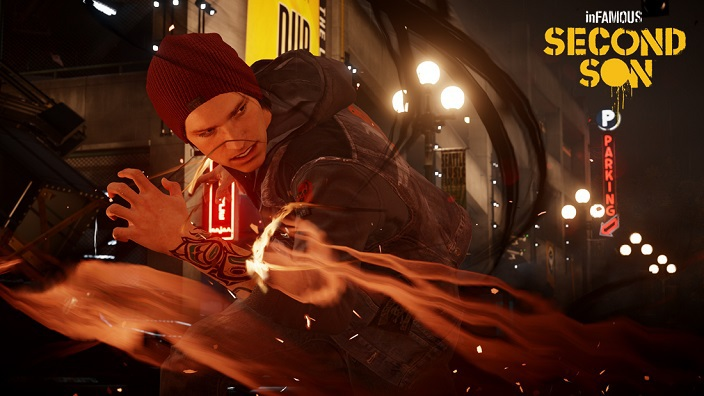 InFamous: Second Son эксклюзив для PS4
