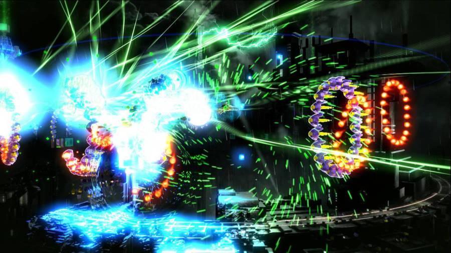 Resogun эксклюзив для PS4