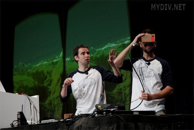 Virtual Reality Cardbox