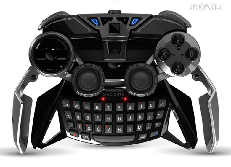 Завораживающе красивый контроллер-трансформер от Mad Catz для любителей игр на Android и Windows