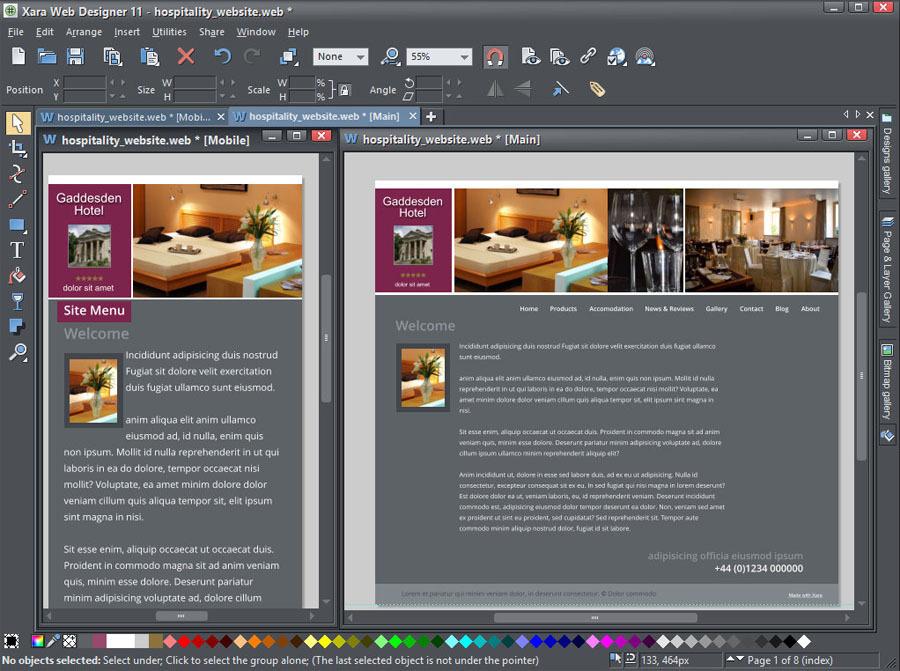 Программа по созданию сайта в интернете создание и размещение рекламы в интернете