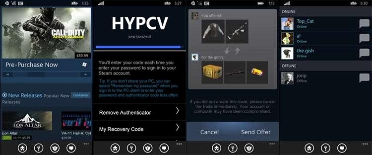 мобильное приложение стим скачать на компьютер - фото 7