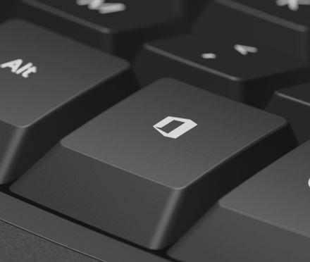 Новая кнопка Office на клавиатуре Microsoft